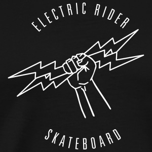 ELECTRIC RIDER - SKATEBOARD #1 - T-shirt Premium Homme
