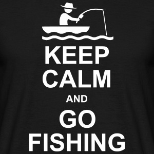 GO FISHING - Mannen T-shirt