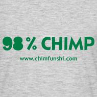 Motiv ~ Männer T-Shirt 98% Chimp