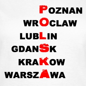 T-shirt woman Poland - Polska - Women's T-Shirt