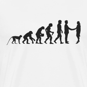 Evolution Business T-shirts - Herre premium T-shirt