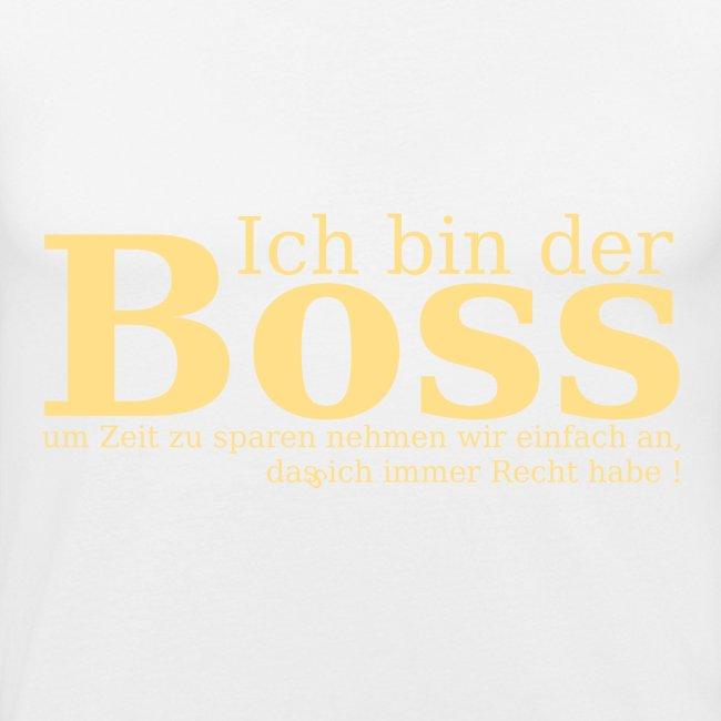 Ich bin der Boss