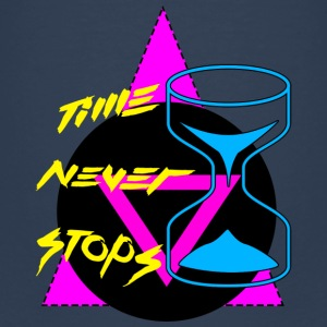 Time Never Stops Shirts - Kids' Premium T-Shirt