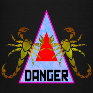 Danger - Retro Design Shirts - Kids' Premium T-Shirt
