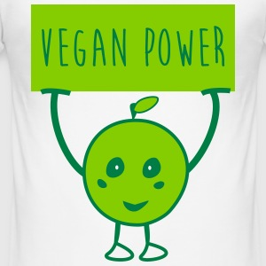 Vegan Power - Männer Slim Fit T-Shirt