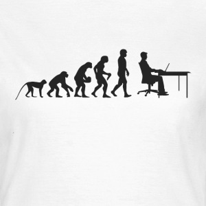 Work Evolution T-Shirts - Frauen T-Shirt