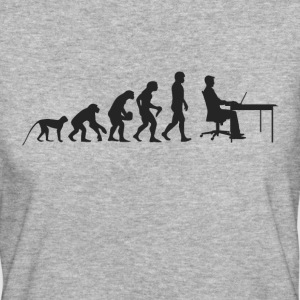 Work Evolution T-Shirts - Frauen Bio-T-Shirt