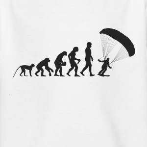 Fallschirm Evolution T-Shirts - Kinder T-Shirt