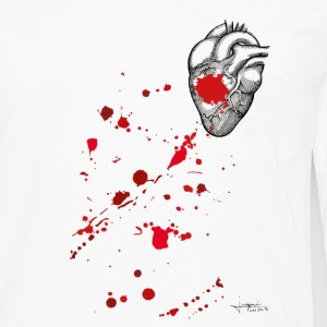 Bloody Heart By JOaquín - T-shirt manches longues Premium Homme