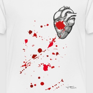 Bloody Heart By JOaquín - T-shirt Premium Ado