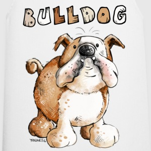 Sweet English Bulldog Cartoon  Aprons - Cooking Apron