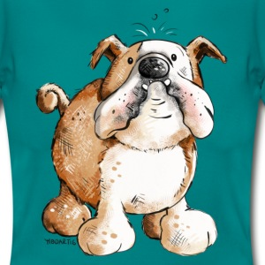Magliette bulldog inglese spreadshirt for Testardo in inglese