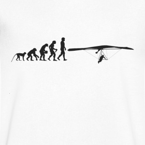 Paragliding Evolution T-Shirts - Men's V-Neck T-Shirt