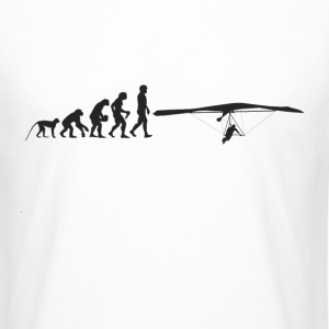 Paragliding Evolution T-Shirts - Men's Long Body Urban Tee