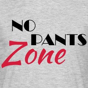 No pants zone T-shirts - T-shirt herr