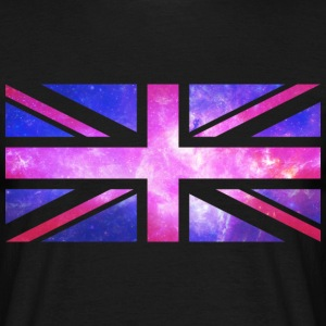 Galaxy Union Jack - Men's T-Shirt