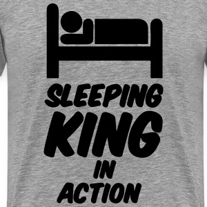 Sleeping King T-Shirts - Men's Premium T-Shirt