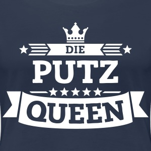 Die Putz-Queen T-Shirts - Frauen Premium T-Shirt