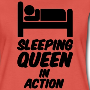 Sleeping Queen T-Shirts - Women's Premium T-Shirt