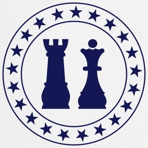 chess / schaak / strategie / koning Kookschorten - Keukenschort
