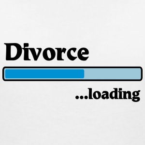Divorce loading T-Shirts - Women's V-Neck T-Shirt
