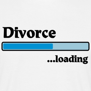 Divorce loading T-Shirts - Men's T-Shirt