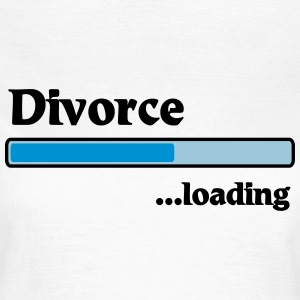 Divorce loading T-Shirts - Women's T-Shirt