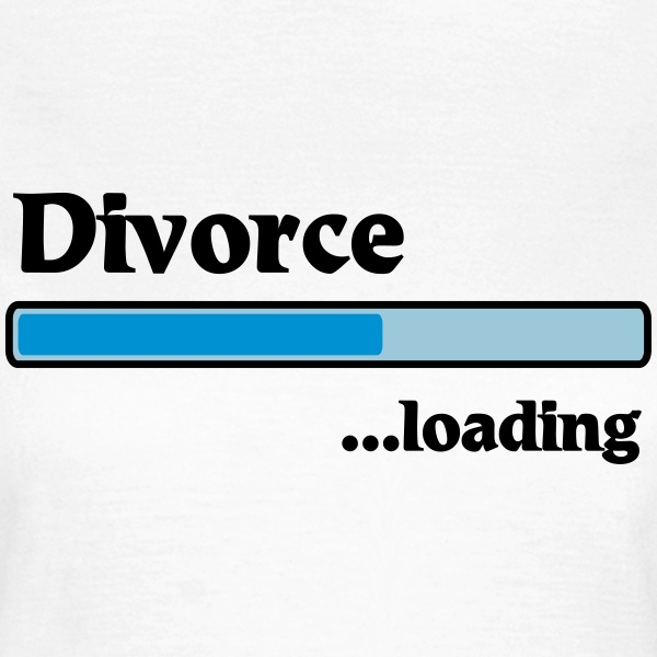 Divorce loading T-shirts - Vrouwen T-shirt