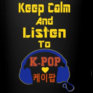 ♥♫Keep Calm&Listen to KPop Coffee/Tea Mug♪ - Full Colour Mug