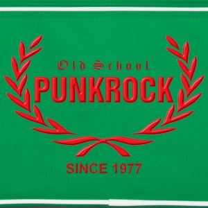Old School Punkrock Since 1977 (roter Druck) - Retro Tasche