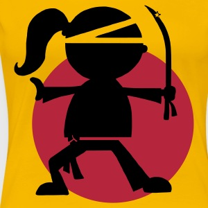 Ninja Girl - Frauen Premium T-Shirt
