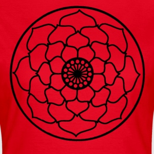 Lotus Flower Mandala - Women's T-Shirt