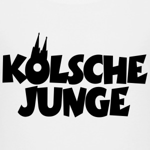 Kölsche Junge Köln Teenager T-Shirt - Teenager Premium T-Shirt