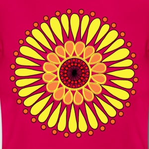 Yellow Sunflower Mandala - Women's T-Shirt
