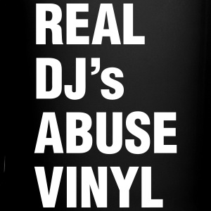 REAL DJ's ABUSE VINYL Mugs & Drinkware - Full Colour Mug