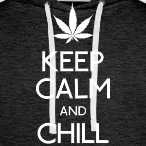 Keep Calm and chill Pullover & Hoodies - Männer Premium Hoodie