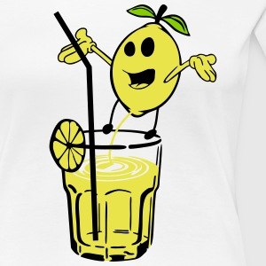Lemon peeled lemonade T-Shirts - Women's Premium T-Shirt