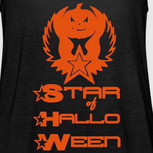 Star of Halloween (with writing) Tops - Women's Tank Top by Bella