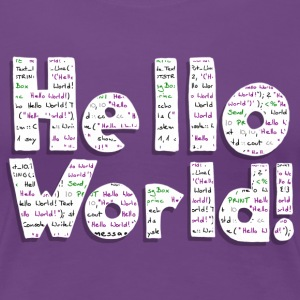 Hello World! - Frauen Premium T-Shirt