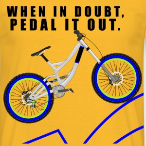 Pedal It Out T-Shirts - Men's T-Shirt
