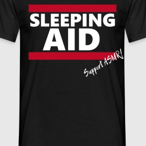 sleeping aid - Support ASMR! - Männer T-Shirt