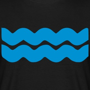 vagues Tee shirts - T-shirt Homme