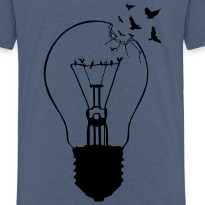 Outlaw, breaking out of the old light bulb Shirts - Kids' Premium T-Shirt