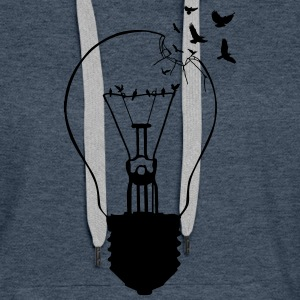 Outlaw, breaking out of the old light bulb Hoodies & Sweatshirts - Women's Premium Hoodie