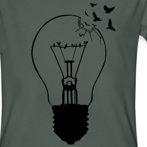 Outlaw, breaking out of the old light bulb T-Shirts - Men's Organic T-shirt
