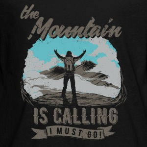 Mountain is calling - Der Berg ruft RAHMENLOS Geschenk Outdoor Sports 11 FS01 Langarmshirts - Teenager Premium Langarmshirt