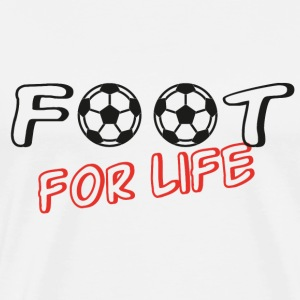 Foot for life Tee shirts - T-shirt Premium Homme