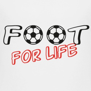 Foot for life Shirts - Teenager Premium T-shirt