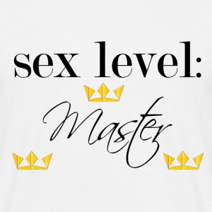 sex level: master - T-shirt Homme