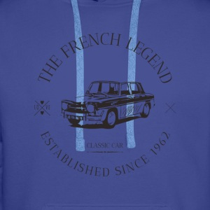 RENAULT R8 GORDINI FRENCH CAR Sweat-shirts - Sweat-shirt à capuche Premium pour hommes